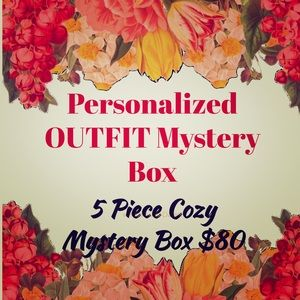 PERSONALIZED MYSTERY BOX 5 ITEMS